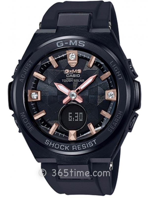 CASIO卡西欧BABY-G G-MS系列腕表MSG-S200BDD-1A