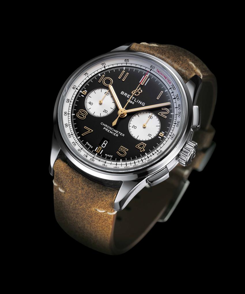 百年灵璞雅B01计时腕表诺顿特别版AB0118A21B1X1