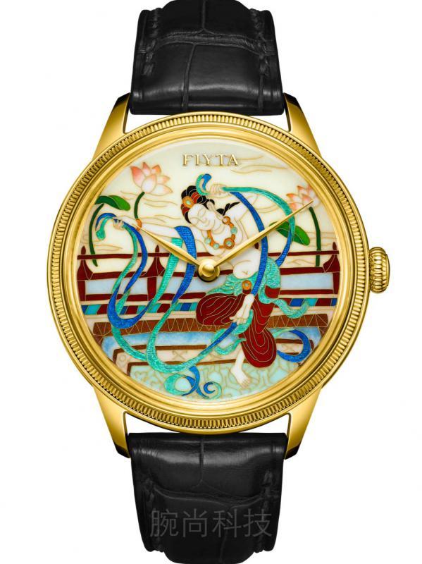 飞亚达大师系列敦煌主题胡旋舞掐丝珐琅腕表GA886021.GQB