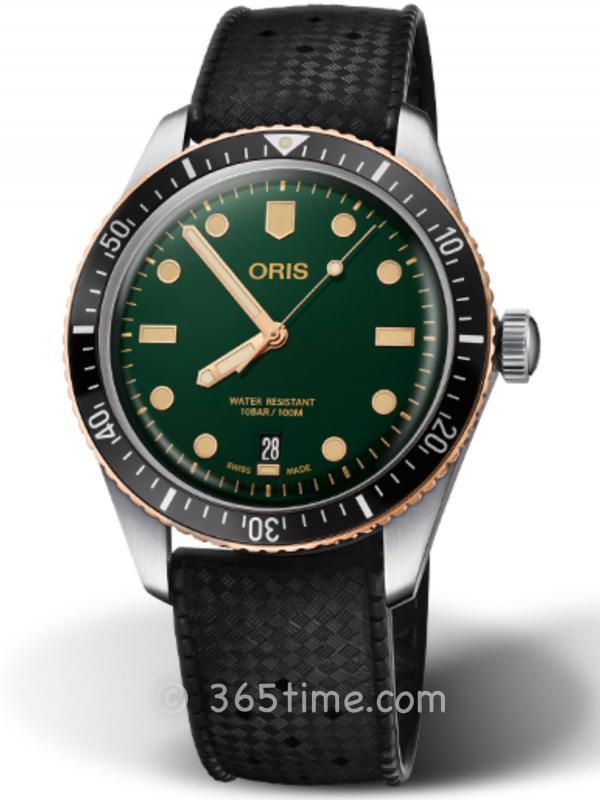 豪利时潜水系列65年复刻版潜水腕表01 733 7707 4357-07 4 20 18