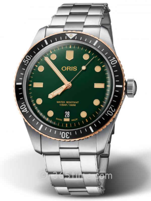 豪利时潜水系列65年复刻版潜水腕表01 733 7707 4357-07 8 20 18
