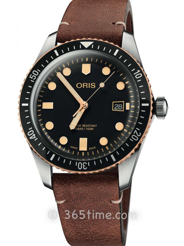 豪利时潜水系列65年复刻版潜水腕表01 733 7720 4354-07 5 21 45