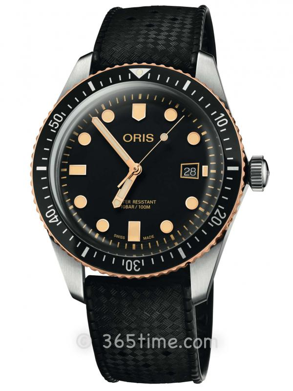 豪利时潜水系列65年复刻版潜水腕表01 733 7720 4354-07 4 21 18