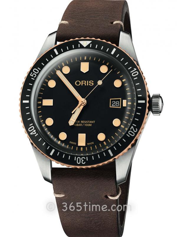 豪利时潜水系列65年复刻版潜水腕表01 733 7720 4354-07 5 21 44