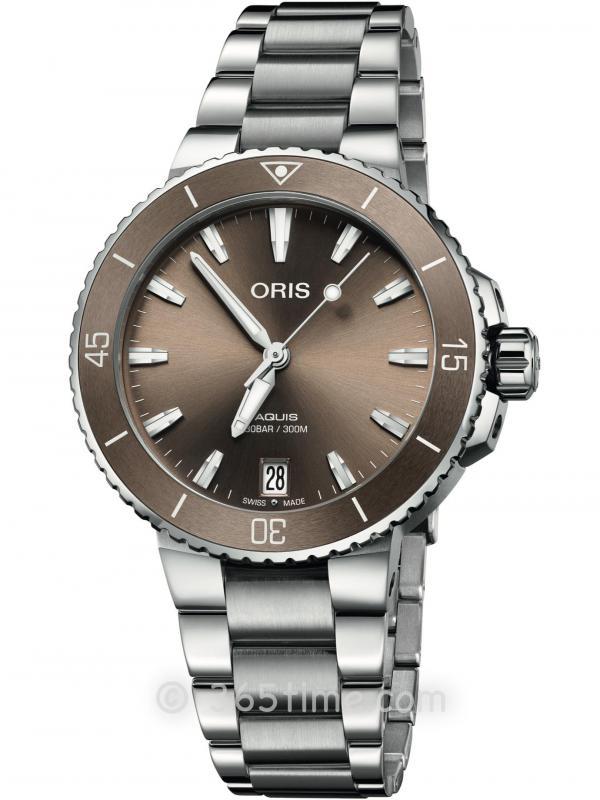 ORIS豪利时潜水系列AQUIS日历腕表01 733 7731 4156-07 8 18 05P