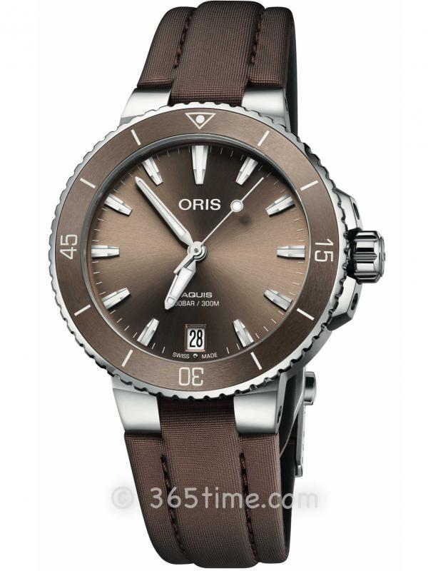 ORIS豪利时潜水系列AQUIS日历腕表01 733 7731 4156-07 3 18 01FC