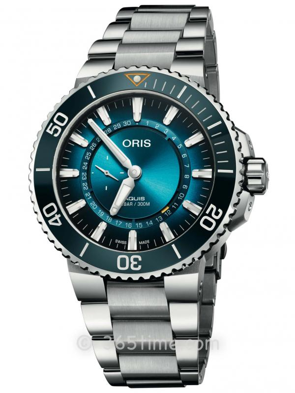 ORIS豪利时潜水系列大堡礁限量版3代腕表01 743 7734 4185-Set