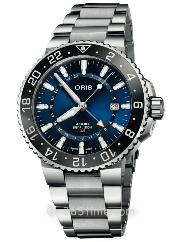 ORIS豪利时潜水系列GMT腕表01 798 7754 4135-07 8 24 05PEB