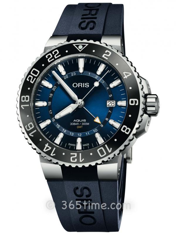 ORIS豪利时潜水系列GMT腕表01 798 7754 4135-07 4 24 65EB