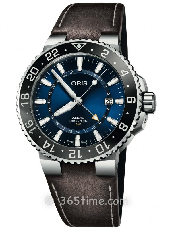 ORIS豪利时潜水系列GMT腕表01 798 7754 4135-07 5 24 10EB