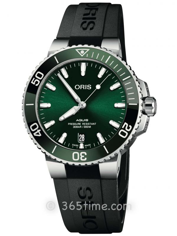 ORIS豪利时潜水系列日历腕表01 733 7732 4157-07 4 21 64FC