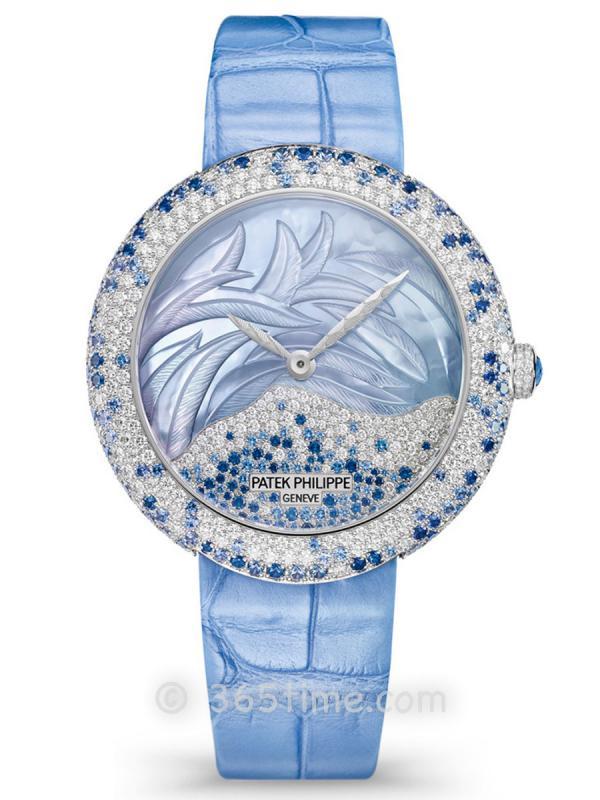 百达翡丽Calatrava高级珠宝腕表4899/901G-001