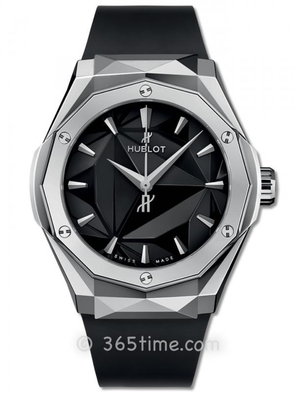 HOBLOT宇舶经典融合系列550.NS.1800.RX.ORL19奥林斯基钛金腕表