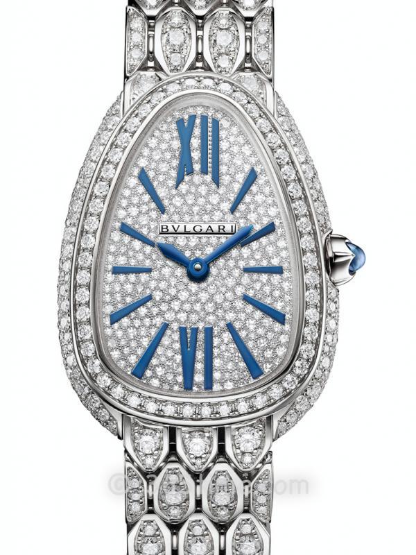 宝格丽SERPENTI镶钻石英女表103159