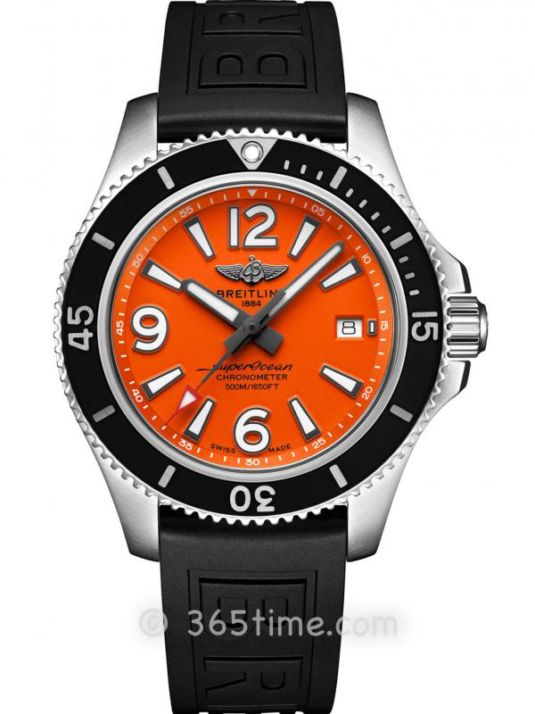 百年灵超级海洋系列A17366D71O1S1自动机械腕表42