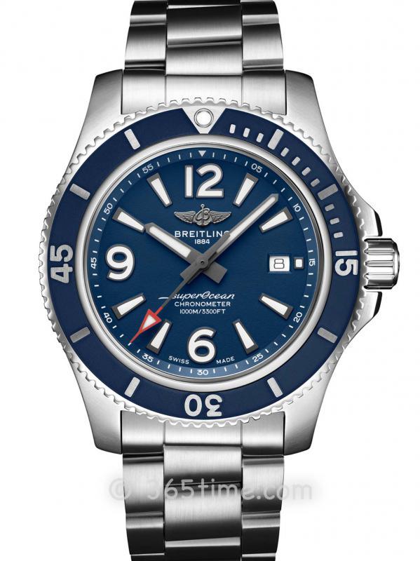 百年灵超级海洋系列A17367D81C1A1自动机械腕表44