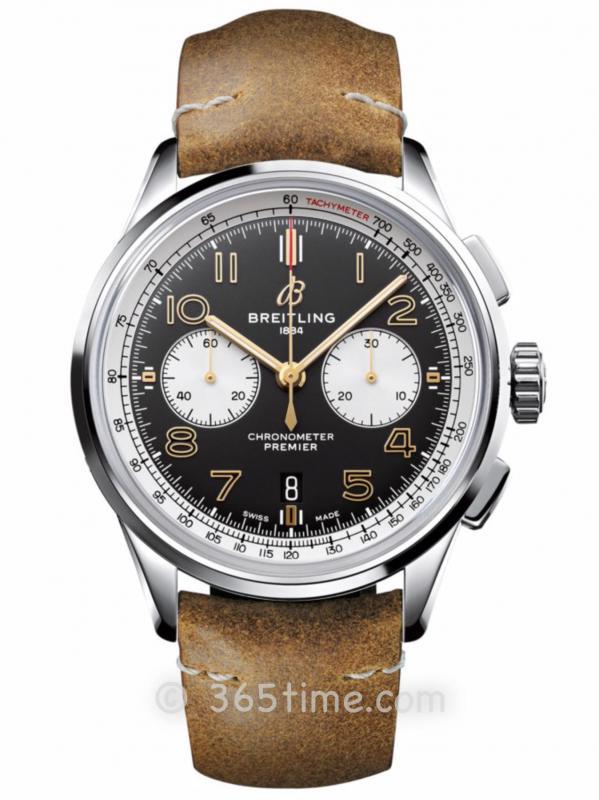 百年灵璞雅B01计时腕表诺顿特别版AB0118A21B1X2