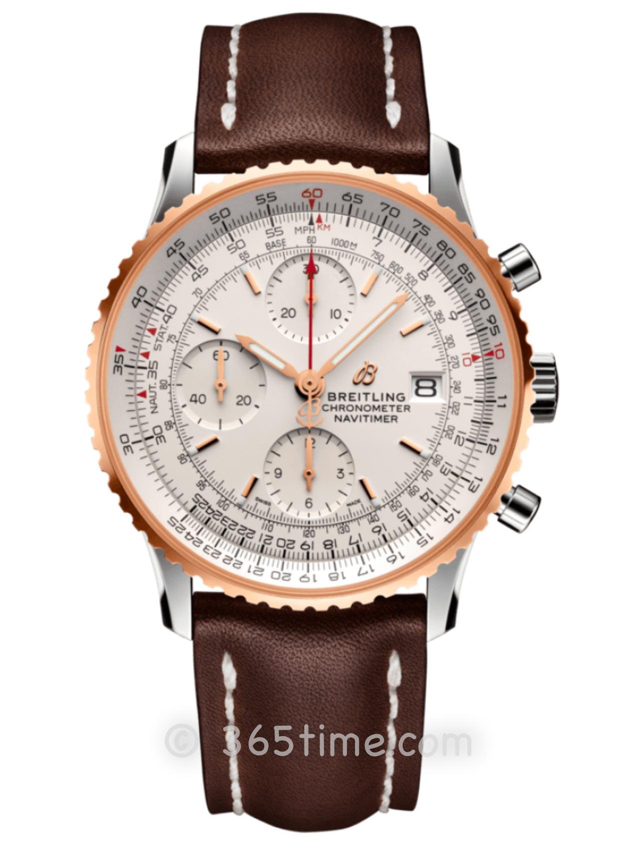 百年灵航空计时系列航空计时1计时腕表41