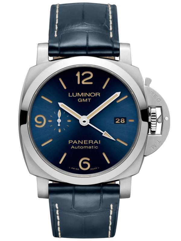 沛纳海Luminor系列男士自动GMT腕表PAM01033