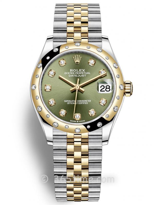 Rolex劳力士日志型31腕表278343rbr-0030