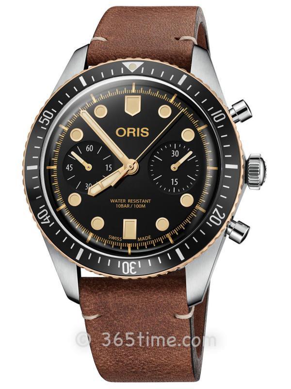 豪利时潜水男士自动计时码表01 771 7744 4354-07 5 21 45