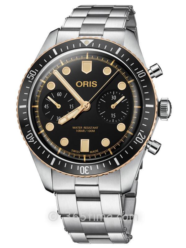 豪利时潜水男士自动计时码表01 771 7744 4354-07 8 21 18