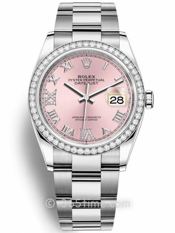 Rolex劳力士日志型36腕表126284rbr-0024