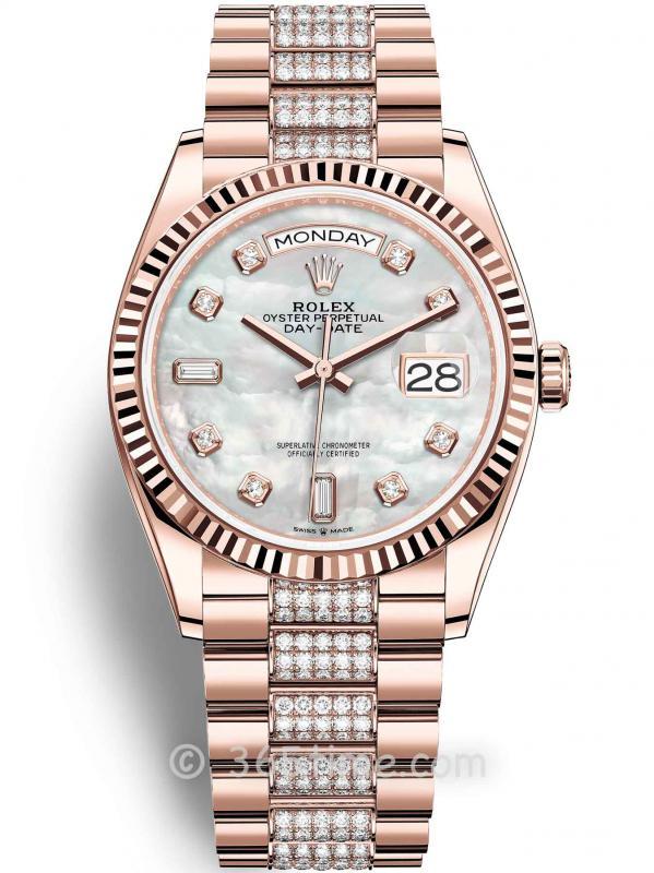 Rolex劳力士星期日历型36腕表128235-0032