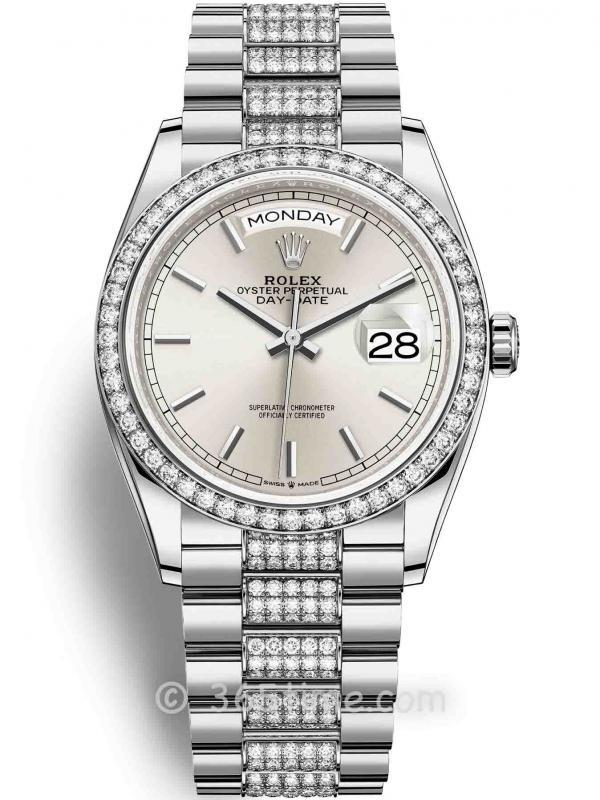 Rolex劳力士星期日历型36腕表128349rbr-0013