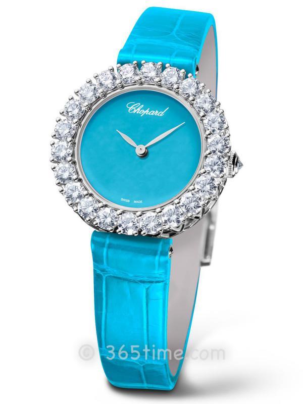 萧邦L'Heure du Diamant女士自动机械珠宝腕表13A378-1004
