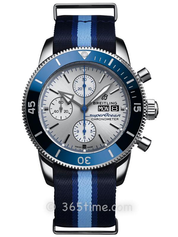 """百年灵超级海洋文化二代计时腕表44""""海洋保育协会""""限量版腕表A133131A1G1W1"""
