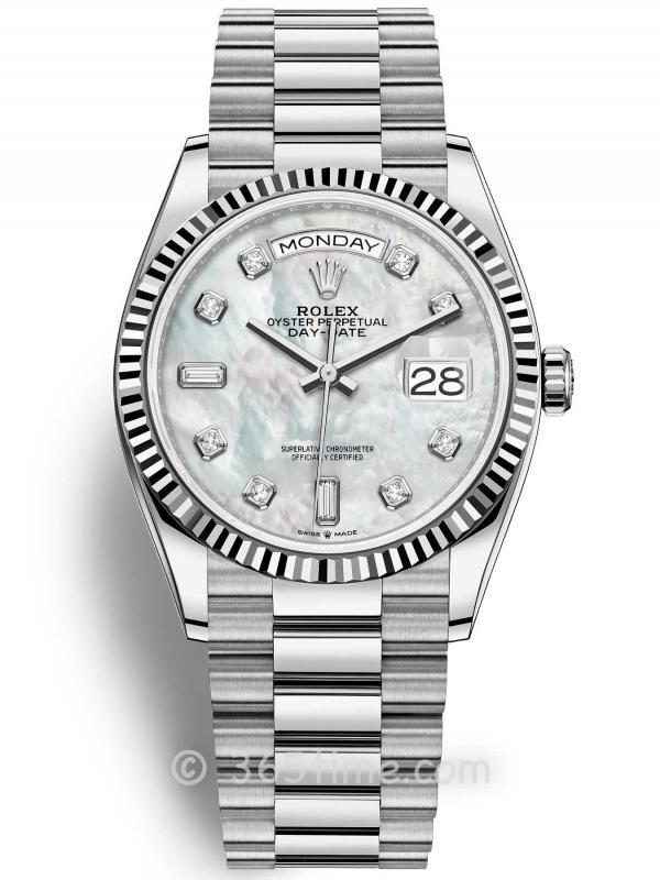 Rolex劳力士星期日历型36腕表128239-0007