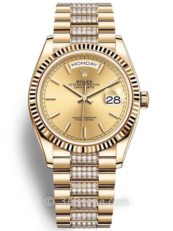 Rolex劳力士星期日历型36腕表128238-0046