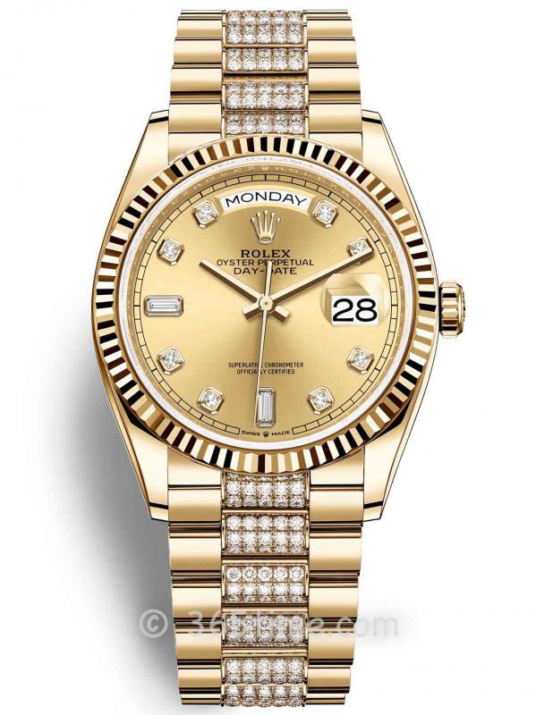 Rolex劳力士星期日历型36腕表128238-0026