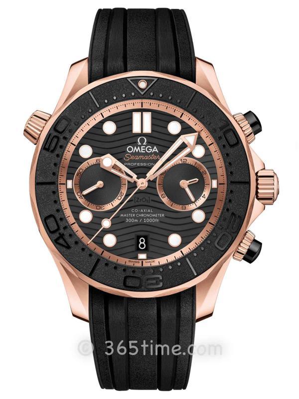 欧米茄海马系列300米专业潜水表210.62.44.51.01.001同轴至臻天文台计时腕表