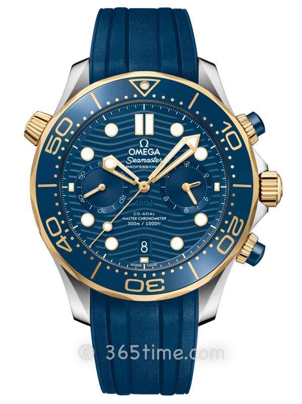 欧米茄海马系列300米专业潜水表210.22.44.51.03.001同轴至臻天文台计时