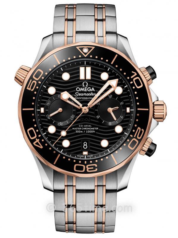 欧米茄海马系列300米专业潜水表210.20.44.51.01.001同轴至臻天文台计时