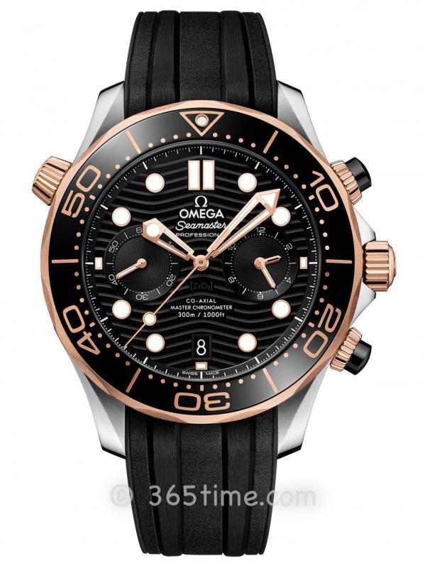 欧米茄海马系列300米专业潜水表210.22.44.51.01.001同轴至臻天文台计时腕表
