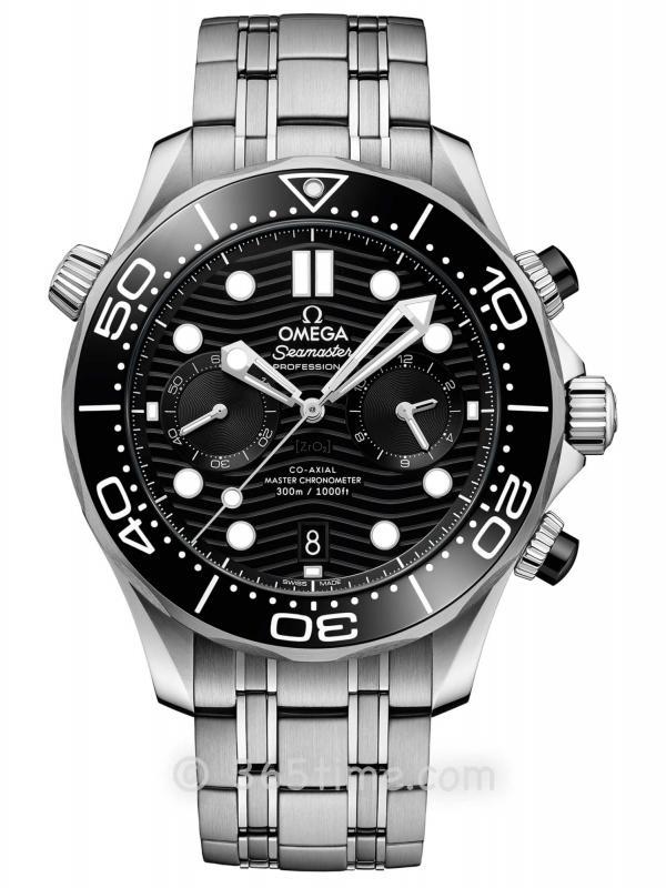 欧米茄海马系列300米专业潜水表210.30.44.51.01.001同轴至臻天文台计时