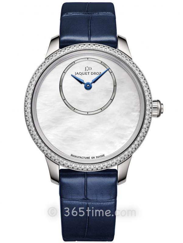 雅克德罗珍珠母贝时分小针盘腕表J005000274