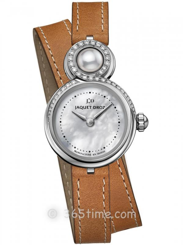 雅克德罗优雅8系列小码珍珠母贝女士腕表J014600373