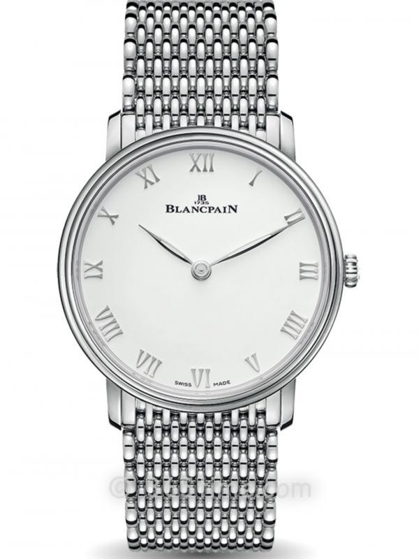 Blancpain宝珀Villeret经典系列超薄腕表6605-1127-MMB