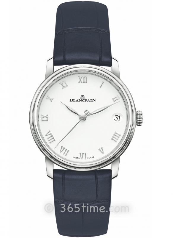 Blancpain宝珀Villeret经典女装系列日期显示腕表6127-1127-55B