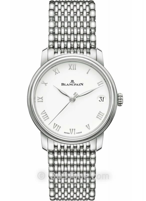 Blancpain宝珀Villeret经典女装系列日期显示腕表6127-1127-MMB