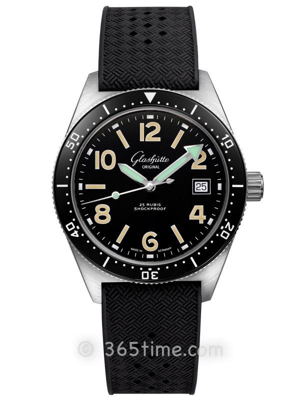 格拉苏蒂原创Spezialist系列SeaQ自动机械腕表1-39-11-01-80-33(折叠扣)