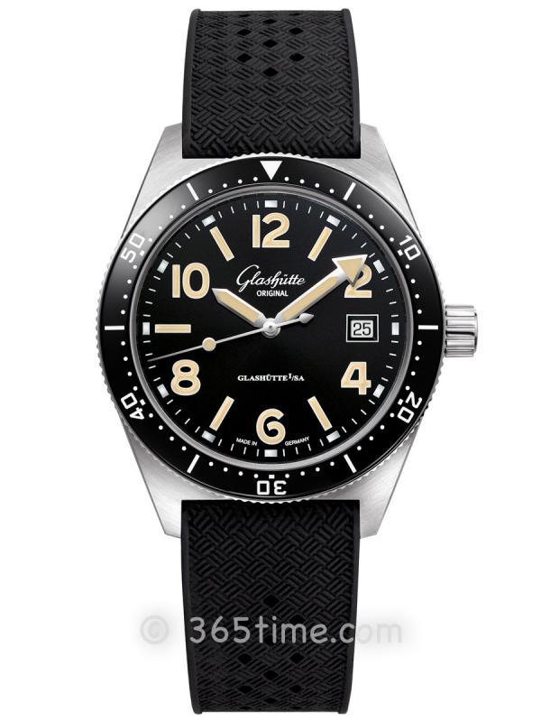 格拉苏蒂原创Spezialist系列SeaQ自动机械腕表1-39-11-06-80-33(折叠扣)