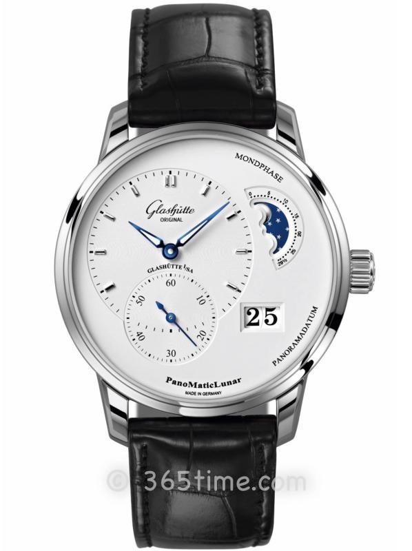 格拉苏蒂原创偏心系列腕表1-90-02-42-32-01(针扣)