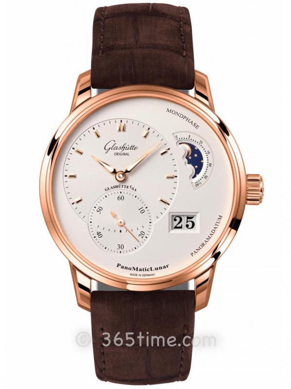 格拉苏蒂原创偏心系列腕表1-90-02-45-35-02(针扣)