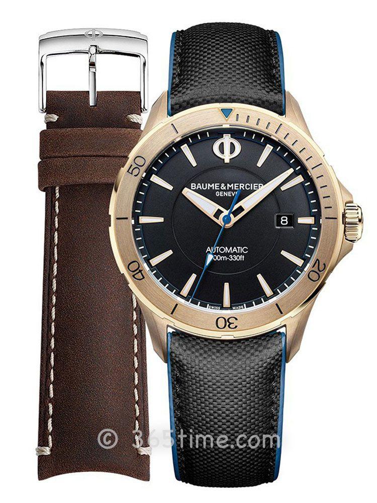 名士克里顿俱乐部系列男士自动上链青铜腕表M0A10500