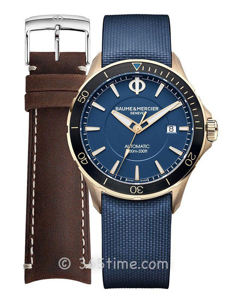 名士克里顿俱乐部系列男士自动上链青铜腕表M0A10502